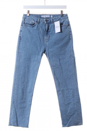 "Subdued High Waist Jeans ""Cigarette High Waist"" hellblau"