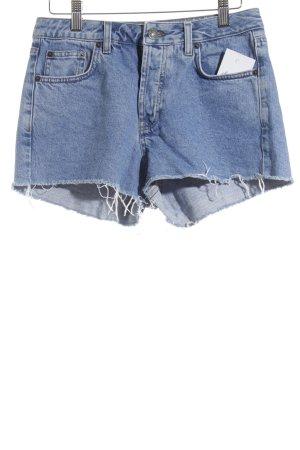Subdued Hot Pants blau Street-Fashion-Look
