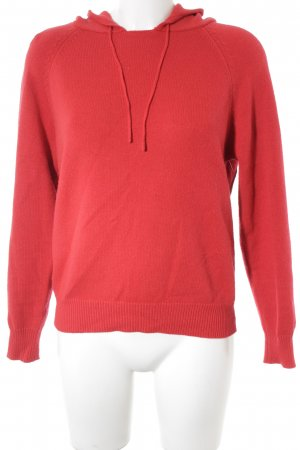 Subdued Kapuzenpullover rot Casual-Look