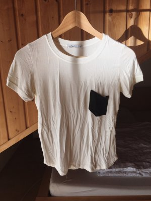 Subdued Camicia cropped bianco-nero