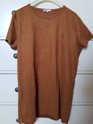 Subdued Longshirt braun