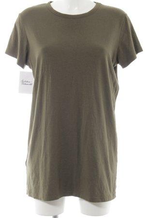 Subdued Longshirt olivgrün Casual-Look