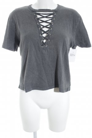 Subdued T-Shirt anthrazit meliert Casual-Look