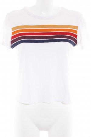 Subdued T-shirt motivo a righe stile atletico