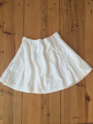 Subdued Weißer Rock, nie getragen, mit Preisschild