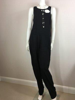 Sublevel Damen Hosen Overall Jumpsuit Gr. M/38-40 schwarz