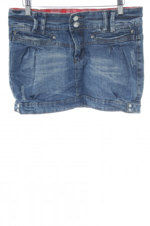 Sublevel Jeansrock blau Casual-Look