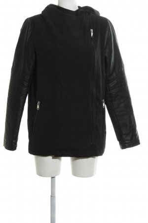 Sublevel Kapuzenjacke schwarz Casual-Look