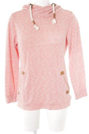 Sublevel Sweat à capuche rose style décontracté