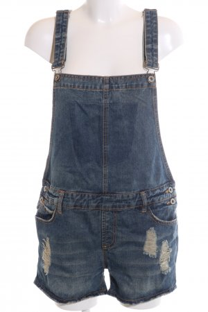 Sublevel Dungarees blue casual look