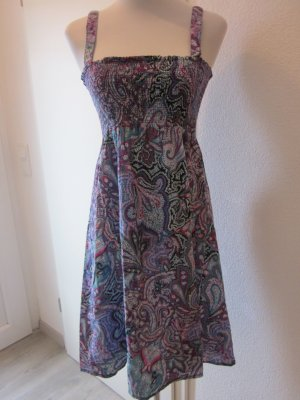 Sublevel A Line Dress multicolored
