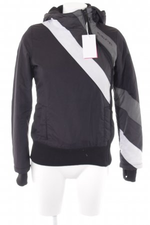 Sublevel Windbreaker color blocking casual look