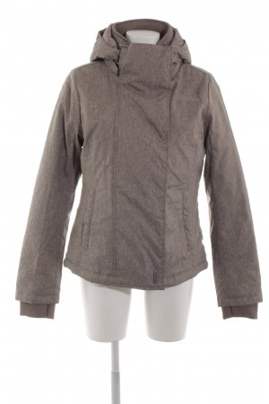 Sublevel Winterjacke hellgrau meliert Casual-Look