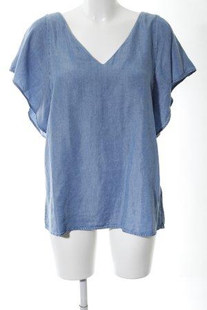 Sud express Denim Blouse blue casual look