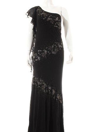 Sue Wong Abendkleid schwarz Paillettenverzierung