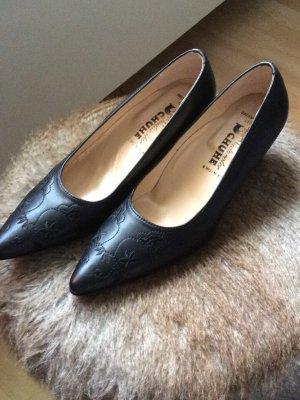 Südtiroler Schuhe Décolleté a punta nero