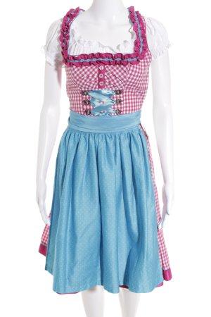 Südtiroler Tracht Midi Dress check pattern classic style