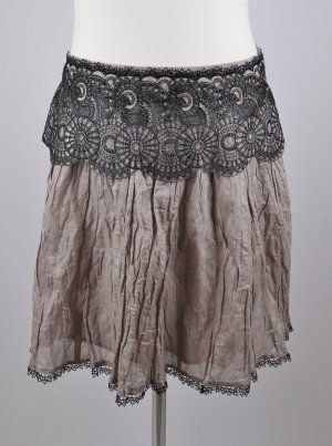 Promod Lace Skirt multicolored mixture fibre