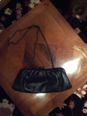 Frame Bag black leather