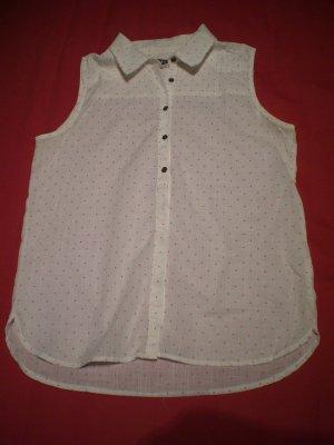 Süße ärmellose Bluse mit Punkten von Roxy
