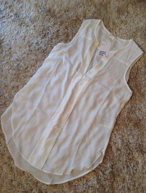 Süße ärmellose Bluse mit V-Ausschnitt von H&M - NEU