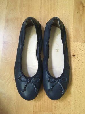 Süße Ballerinas dunkelblau