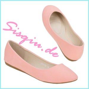 süße Ballerinas rosa NEU Sisqiu.de