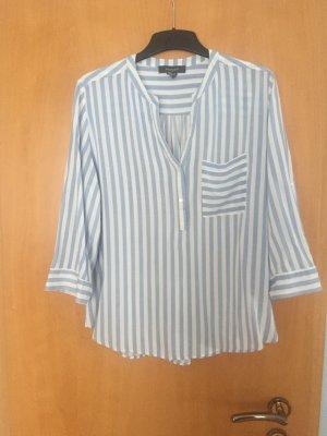 süße blau/weiße Bluse, NEU, Größe L-XL