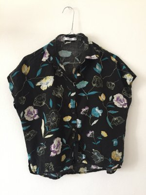 Pull & Bear Hawaiian Shirt multicolored viscose