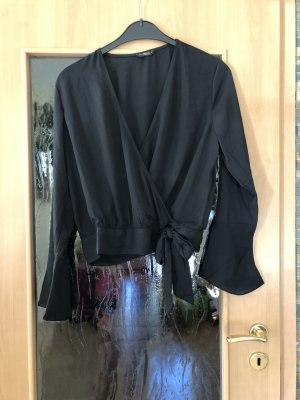 Colloseum Wraparound Blouse black