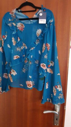Süße Bluse aus Italien Must Have Gr L weite Ärmel