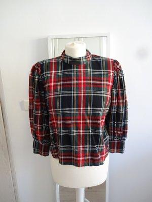 Bershka Ruche blouse veelkleurig