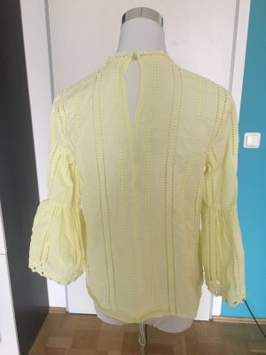 H&M Blouse pale yellow