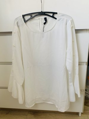 Amisu Long Sleeve Blouse white