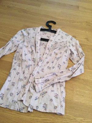Süße Bluse mit romantischen Blumendesign