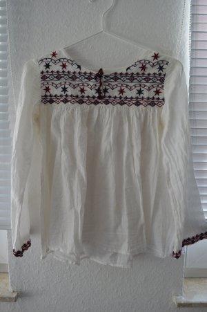 süße Boho-Bluse von Zara
