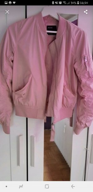 Bershka Bomber Jacket pink
