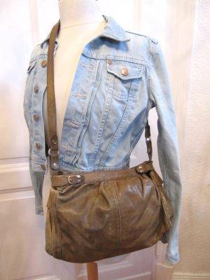 Süße Boscha Tasche True Vintage Leder Original von der Oma