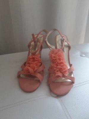 Buffalo London Wedge Sandals pink