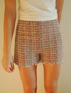 Zara High-Waist-Shorts pink