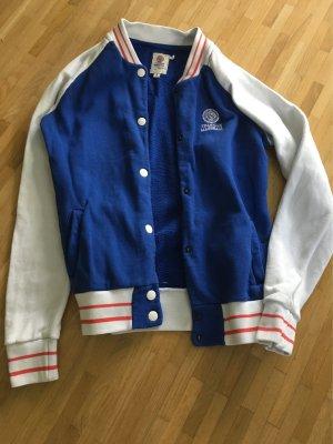 Franklin & marshall Chaqueta estilo universitario blanco-azul