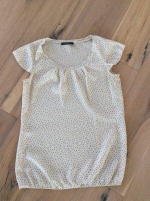 Süße cremefarbene Bluse mit Blümchenprint von Esprit
