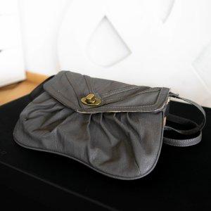Castro Mini Bag dark grey imitation leather