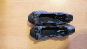 Slingback Ballerinas blue-steel blue