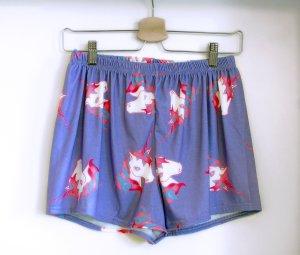 Süße Einhorn-Shorts (Pyjama)