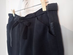 Shorts anthracite-black polyester