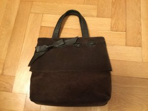 Süße Furla Handtasche aus braunem Wildleder