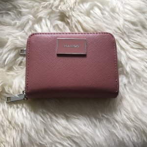 Mango Wallet pink-silver-colored