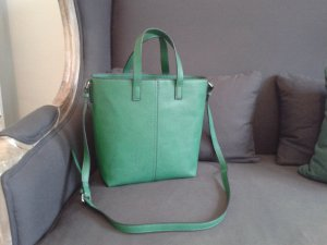 Zara Handbag green imitation leather