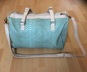 Süße Handtasche im Krokolook (NEU)